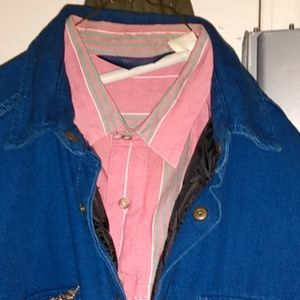 Woolrich vintage and Taylor Stitch demin jacket